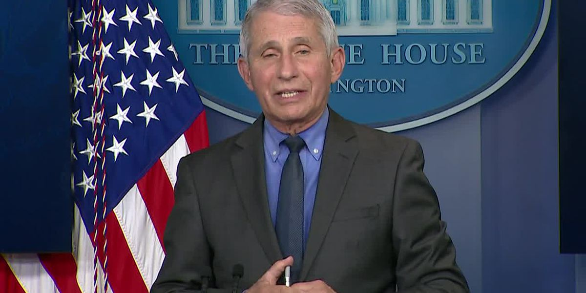 Fauci comments on 'pause' of J&J vaccine