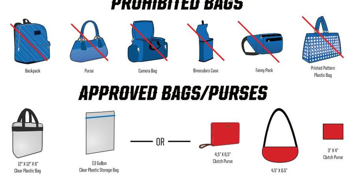 'Clear bag' policy extends to most MSU Texas events