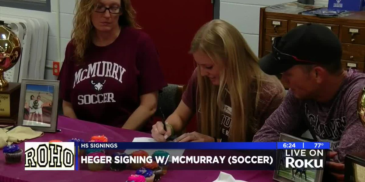 Cypher, Heger sign NLI's