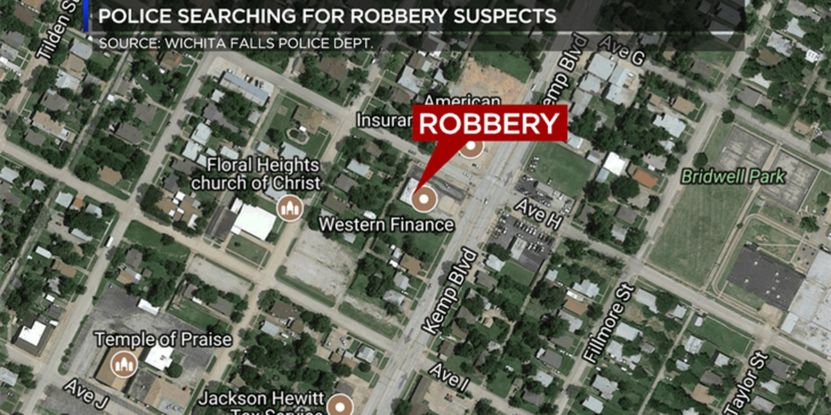 WFPD investigates robbery at Western Finance