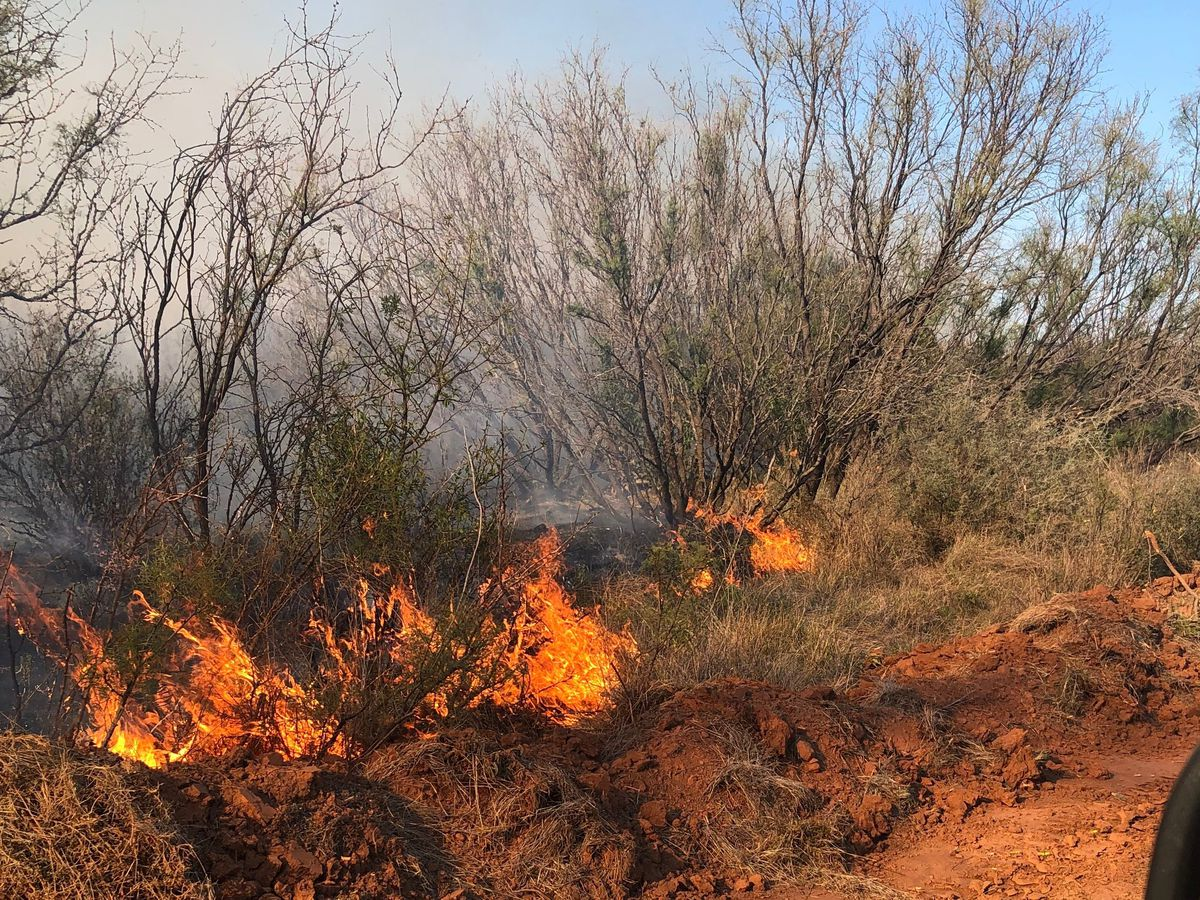 UPDATE: Wilbarger wildfire now 90% contained