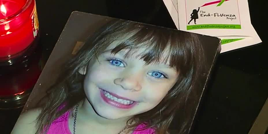 Mom who lost daughter to flu warns others
