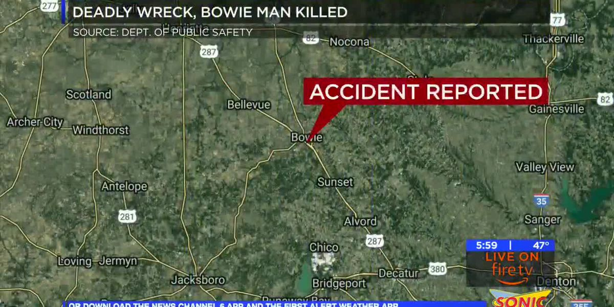 Friday morning crash claims life of Bowie man