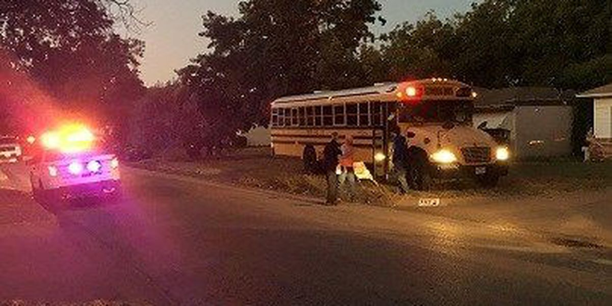 WFISD School Bus Involved in Accident