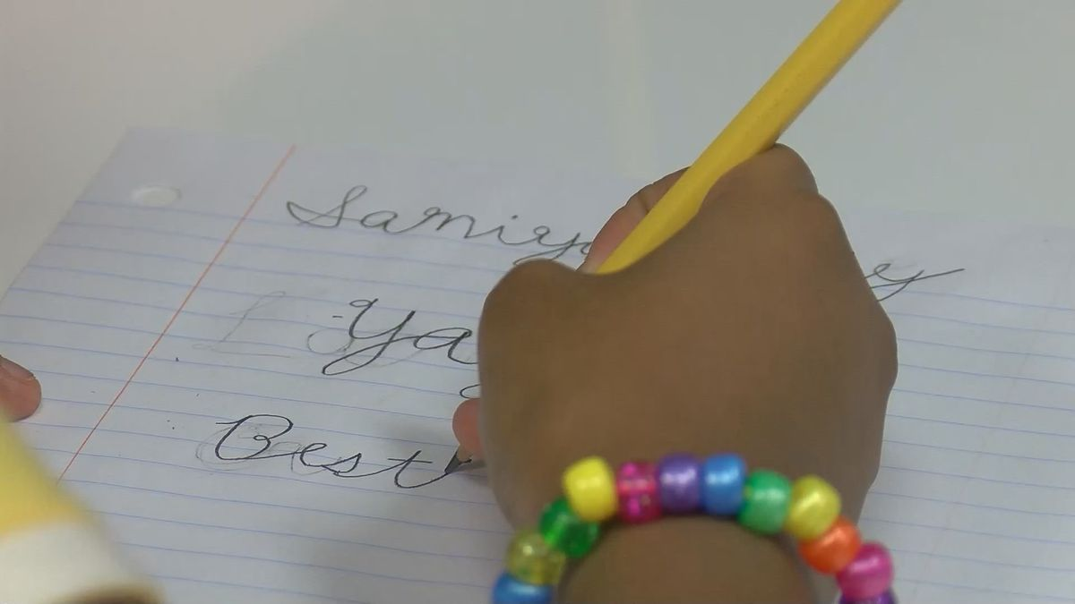 WFISD to start teaching cursive in second grade this year