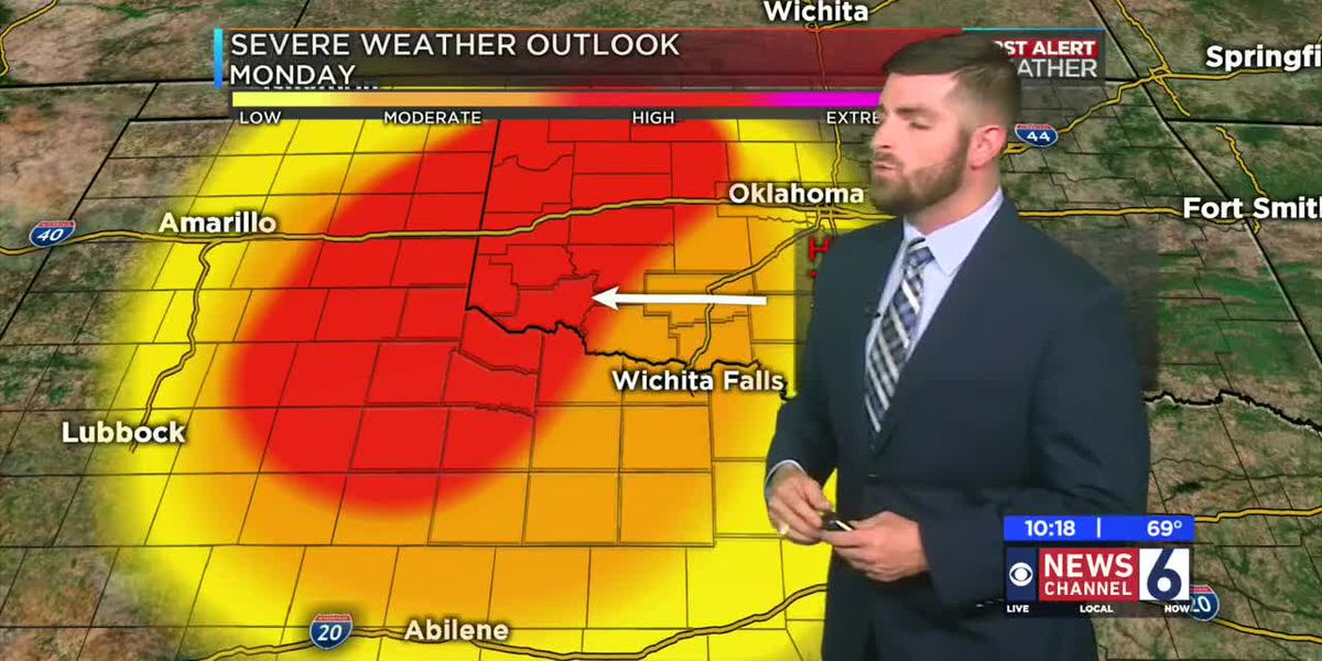 KAUZ News Channel 6 Saturday 10pm WX 05/18/19