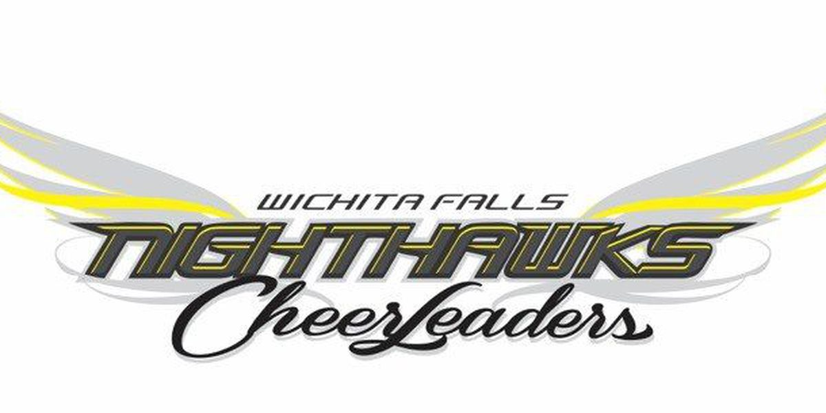 Wichita Falls Nighthawks Cheerleaders Promote 1st Game & Calendar