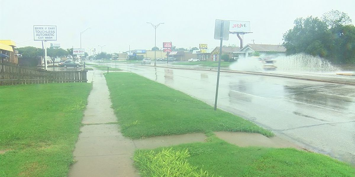 WF drainage projects helping during large rainstorms
