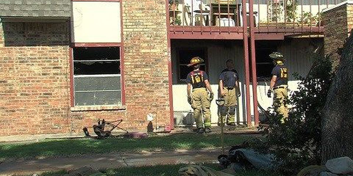 Fire Damages Apartment Home