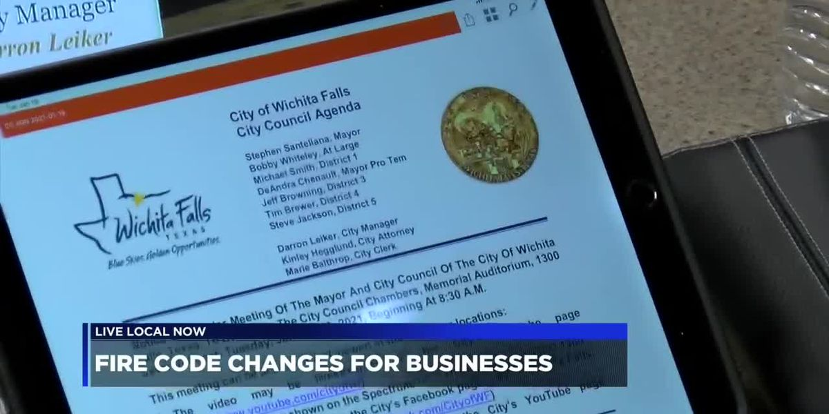 Fire code changes for businesses