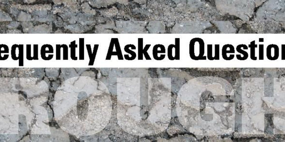 Water and Drought FAQ's