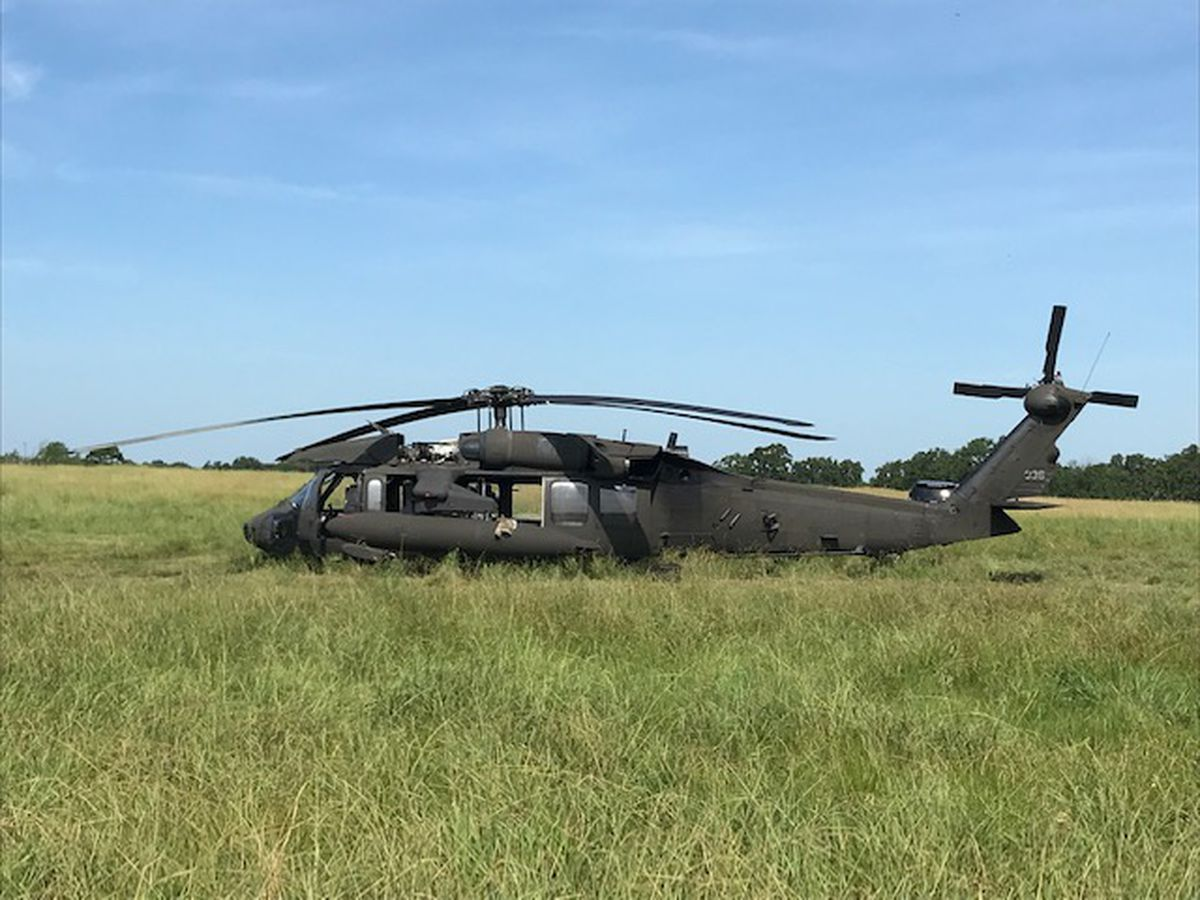 Owners of pasture said Black Hawk couldn't have landed in ...