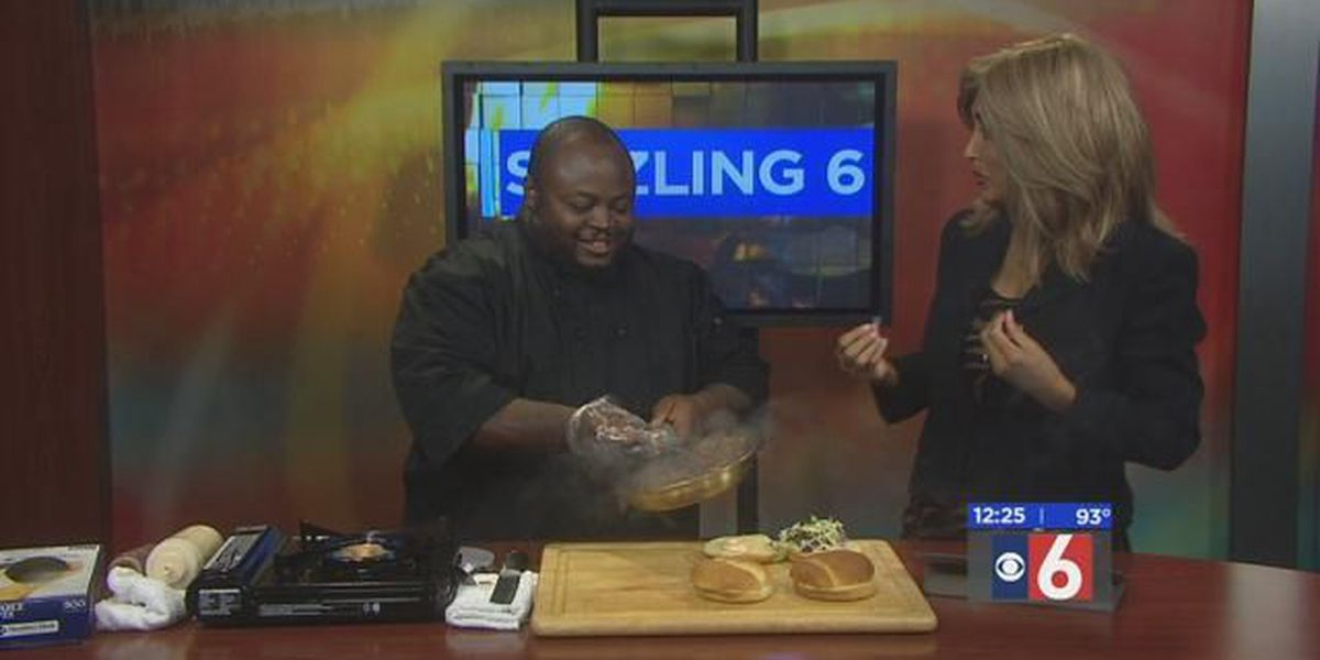 Sizzling with 6: Pulled Pork Sandwich