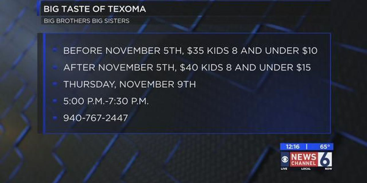 Big Taste of Texoma tickets on sale now