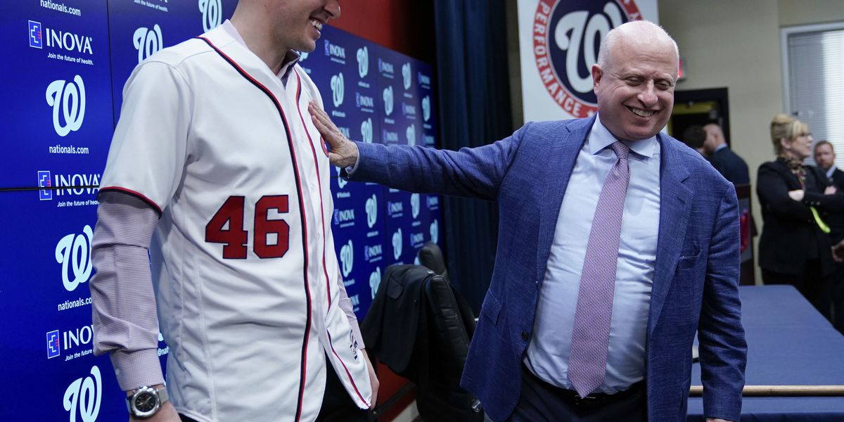 Nats GM: Corbin, Harper 'independent'; owner thinks OF gone