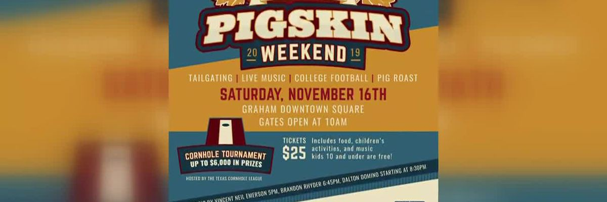 News Channel 6 City Guide: Inaugural Pigskin Weekend in Graham