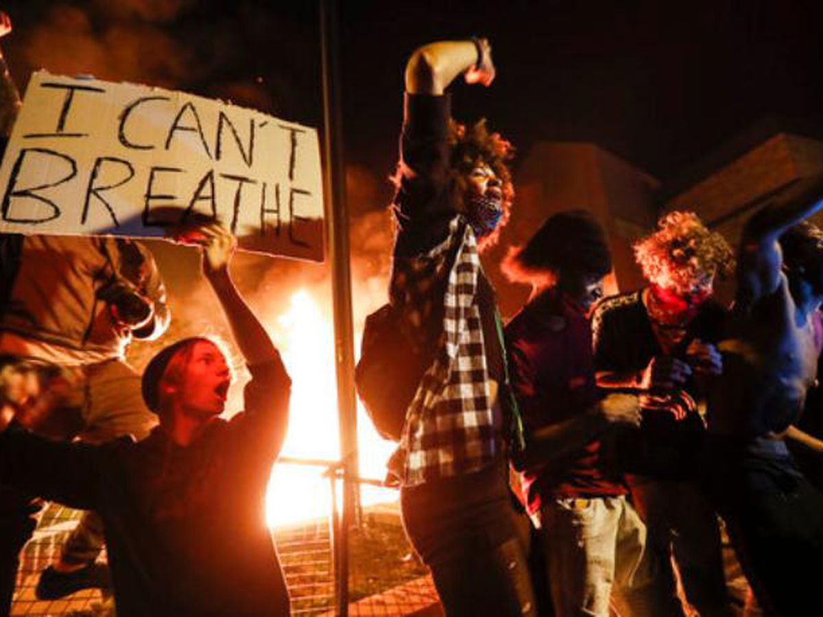 Protests over George Floyd's death spread across the nation