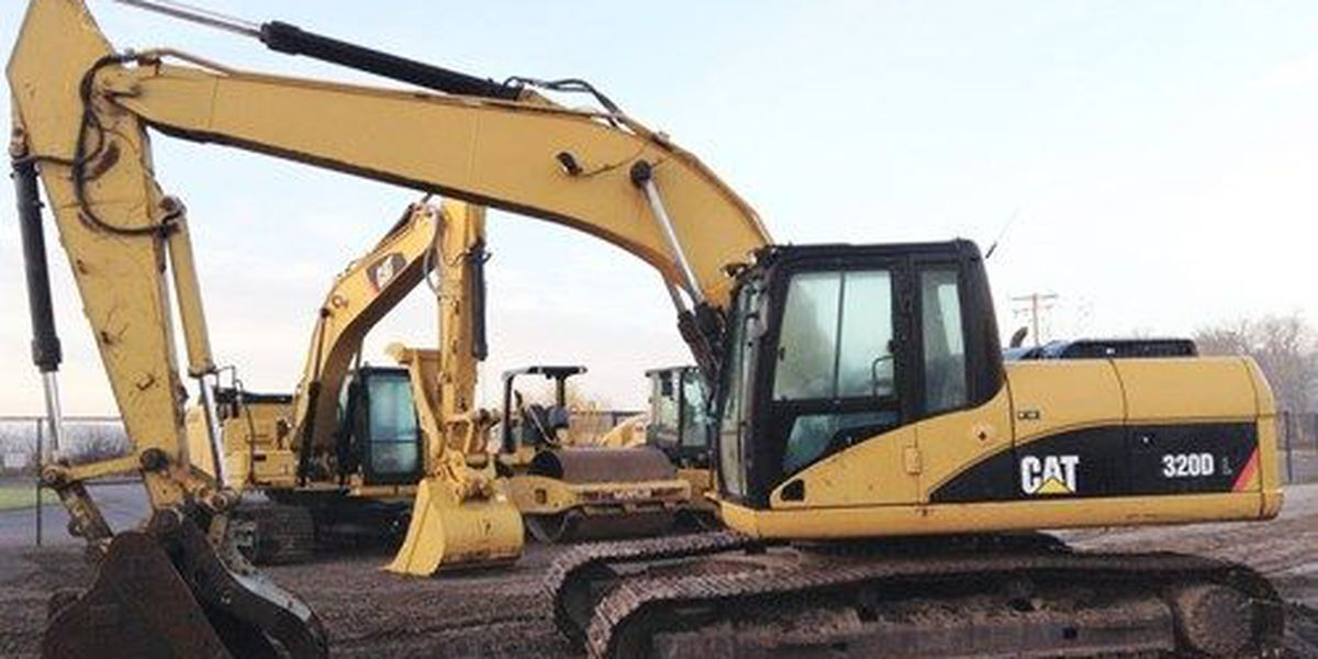Information sought on stolen excavator near Holliday