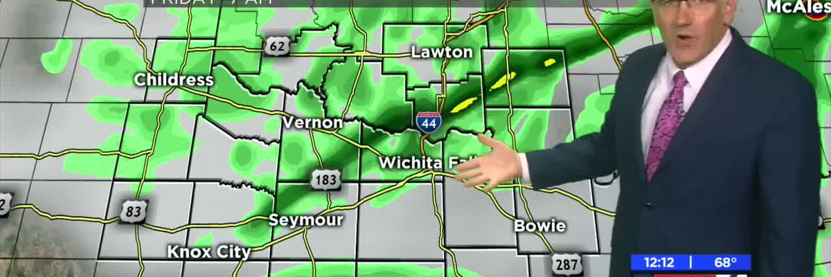 KAUZ Midday Thursday weather