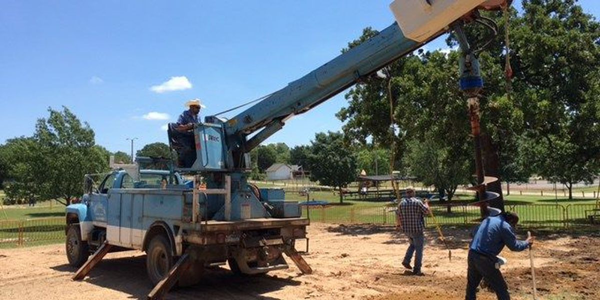 First phase of Nocona Playground Project begins