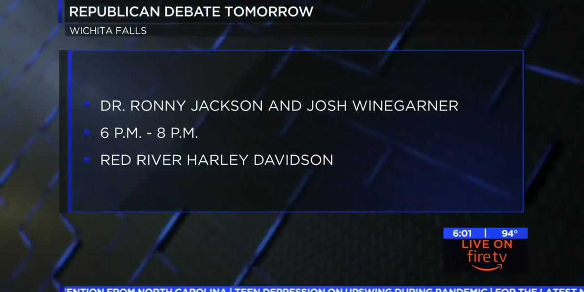 13th Congressional District Republican candidates to debate Thursday