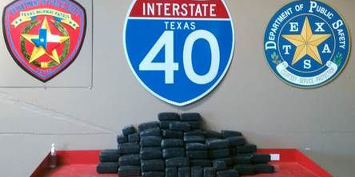 Traffic stop leads to discovery of 128 pounds of marijuana