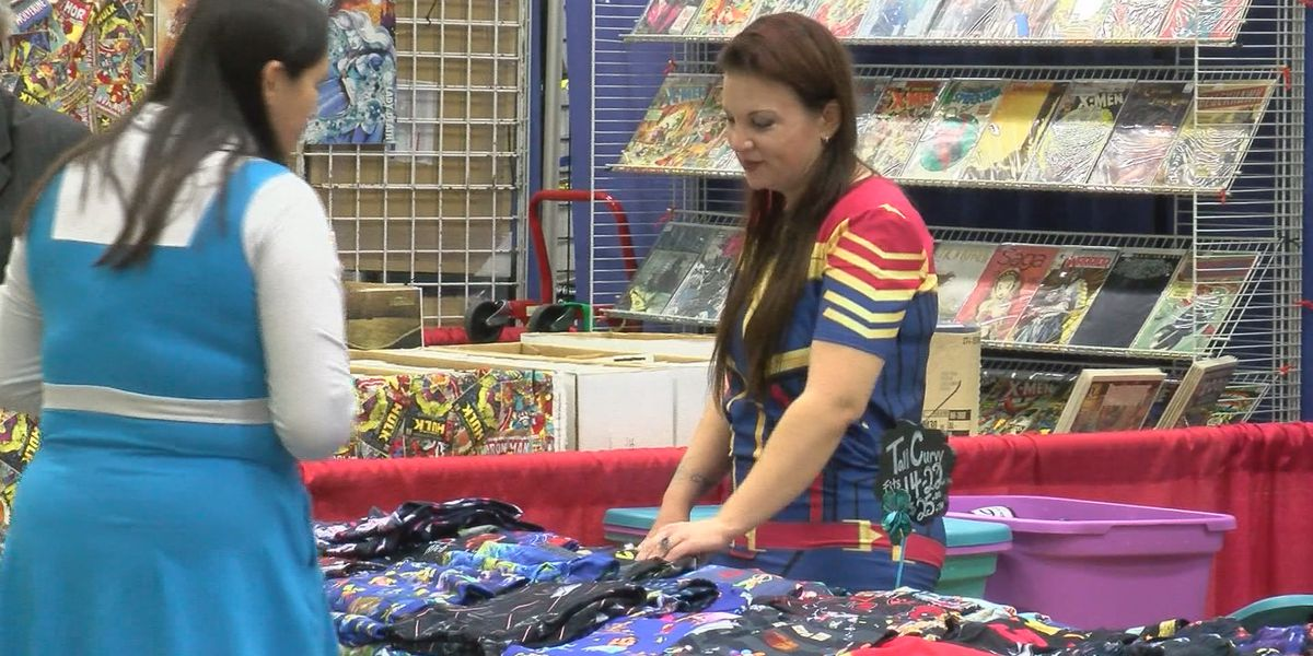 Comic Expo brought out hundreds of people to WF