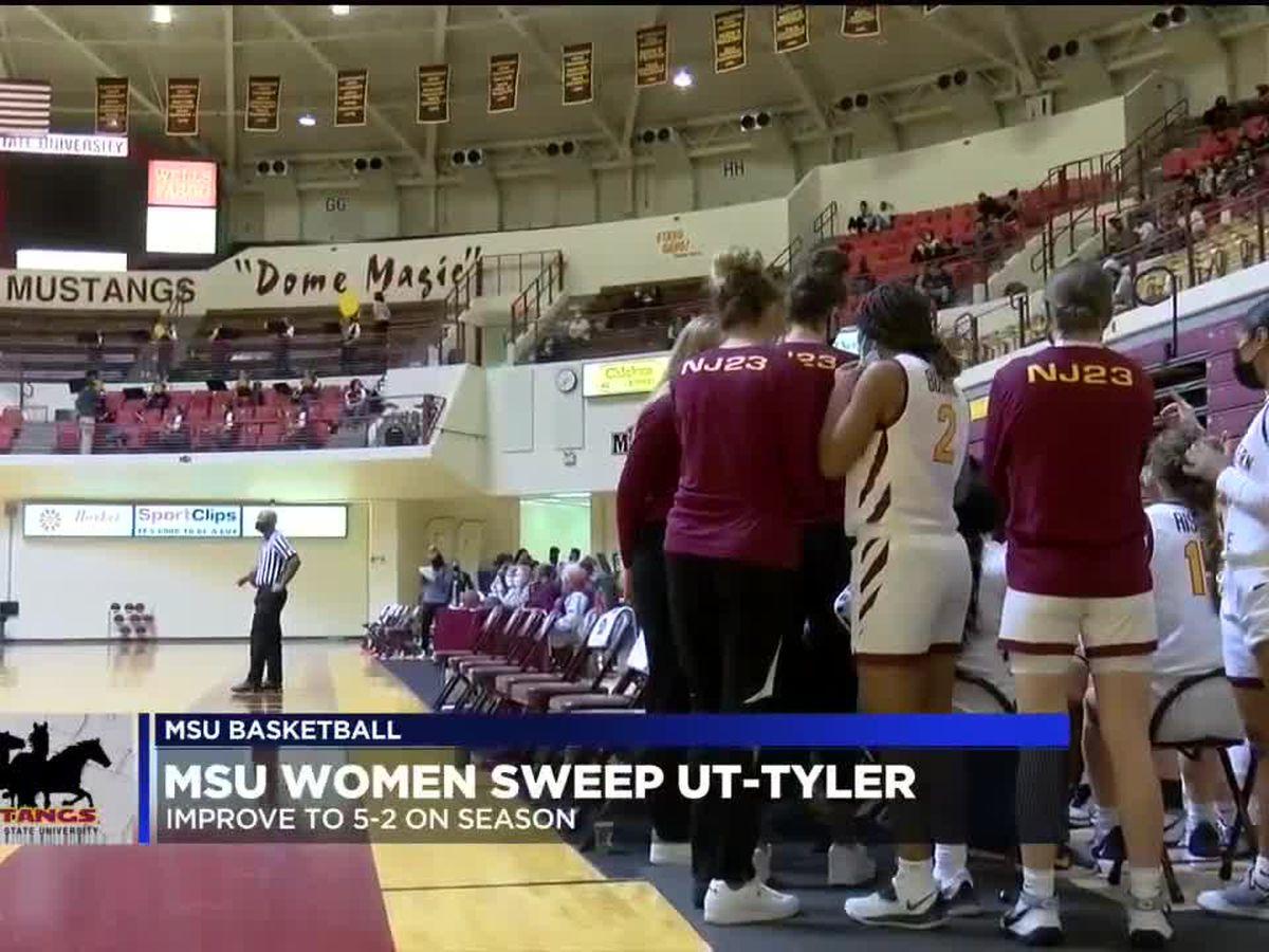 MSU women complete sweep against UT-Tyler