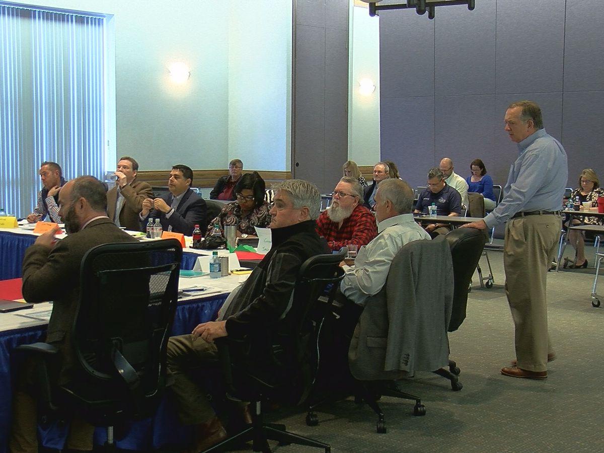 WF officials talk strategic planning