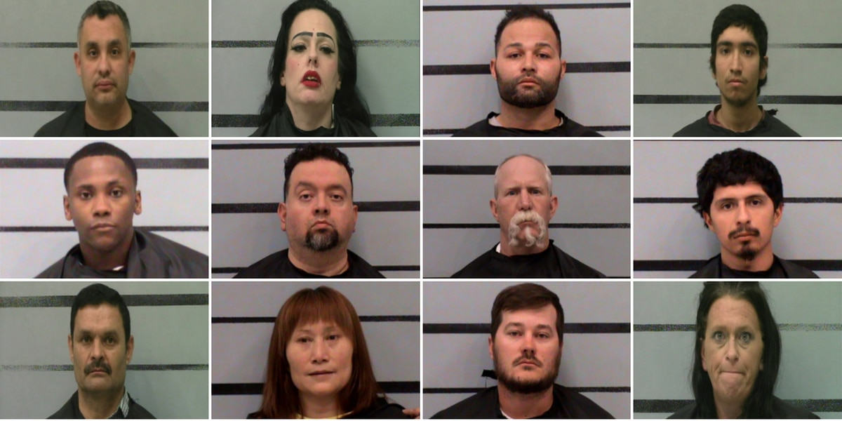17 arrests made in Lubbock prostitution operation