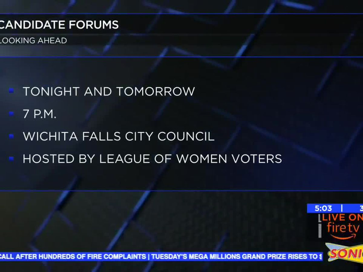 League of Women Voters to host candidate forums tonight, Tuesday