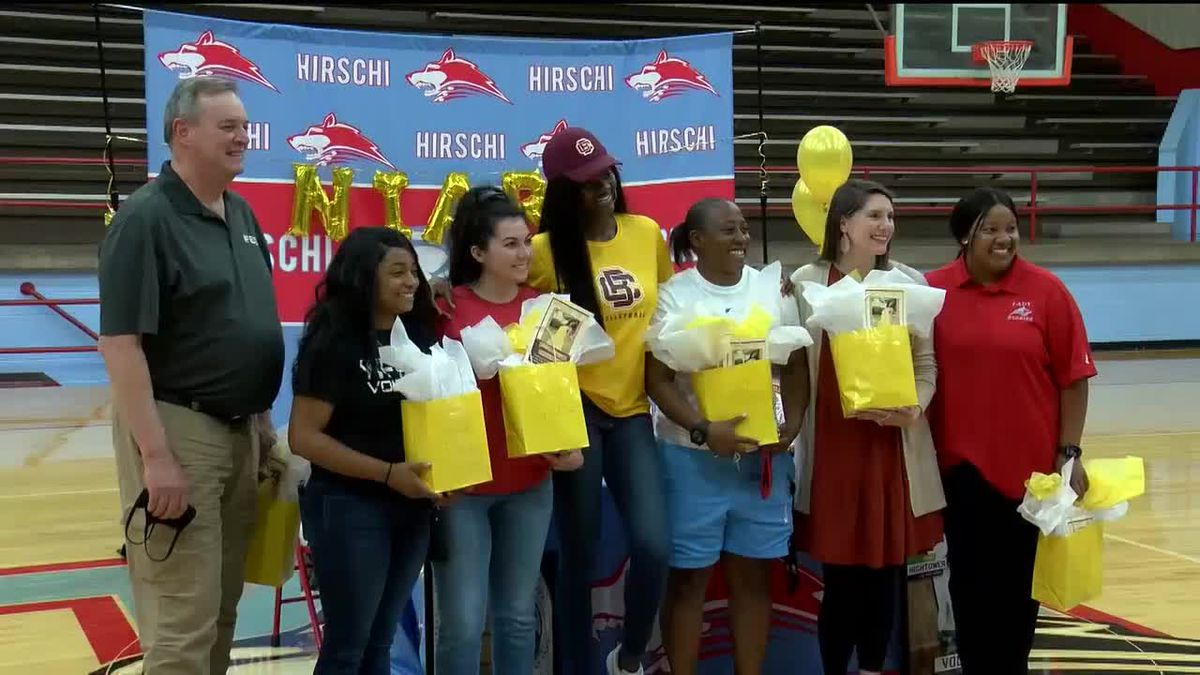 Hightower signs with BCU, makes history at Hirschi