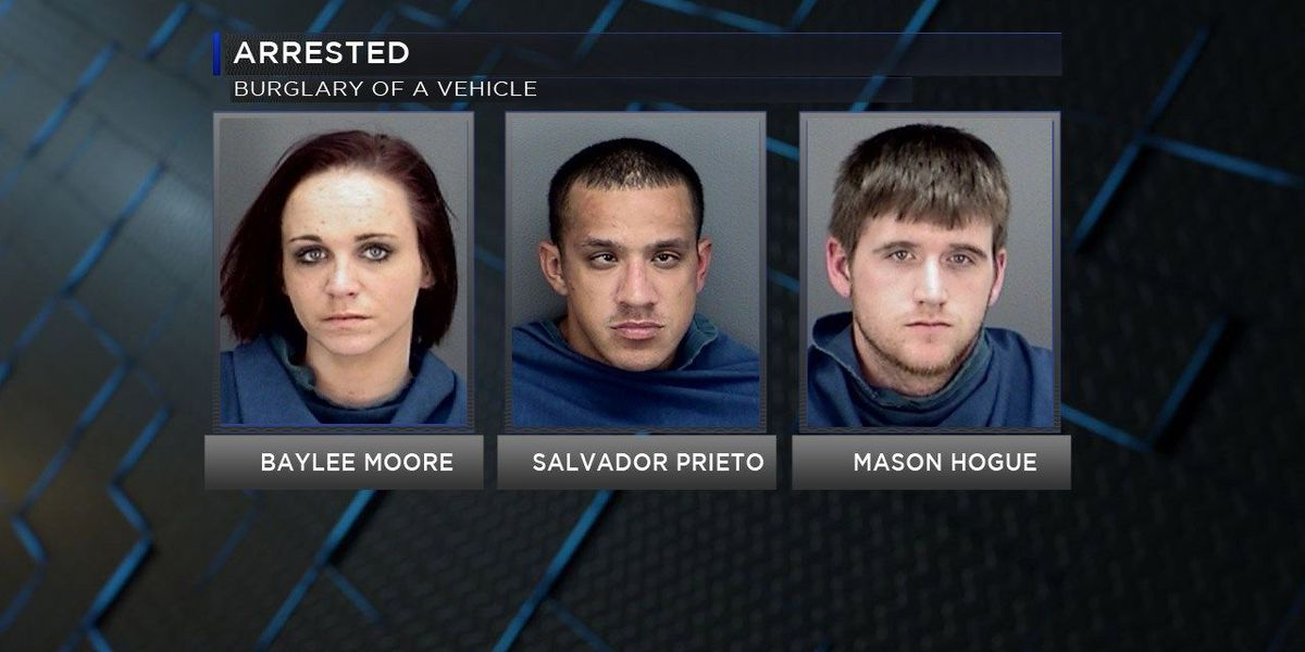 Trio arrested for organized criminal activity in Wichita Falls