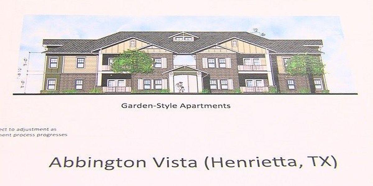 Abbington Vista Apartments project moving along in Henrietta