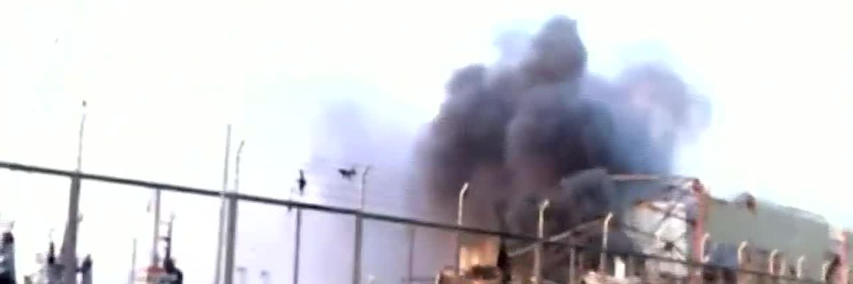 Large explosion in Beirut, Lebanon