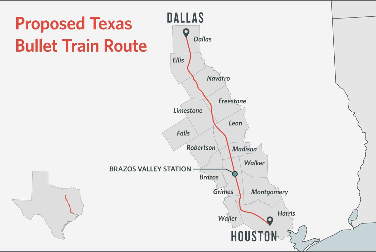 Madison Dodges Weather Bullet As >> Some Texans Dodge Bullet Train Others Are Square In Its Path