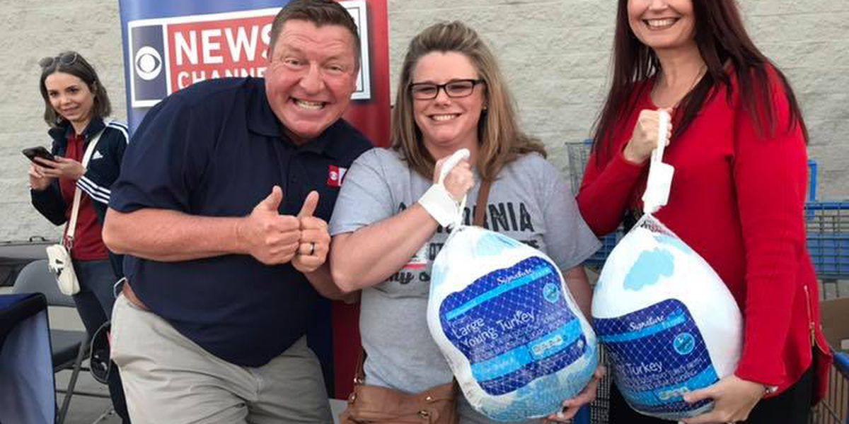 Texomans flock together for turkey drive