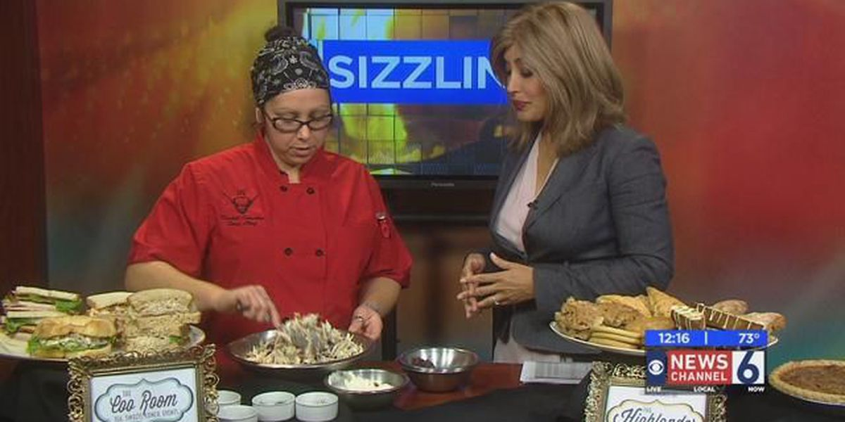 Sizzling With 6: The Coo Room Turkey Salad Sandwich
