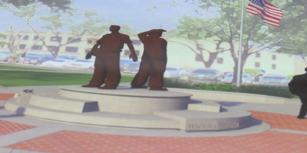 Wichita County will soon have a new Memorial Plaza