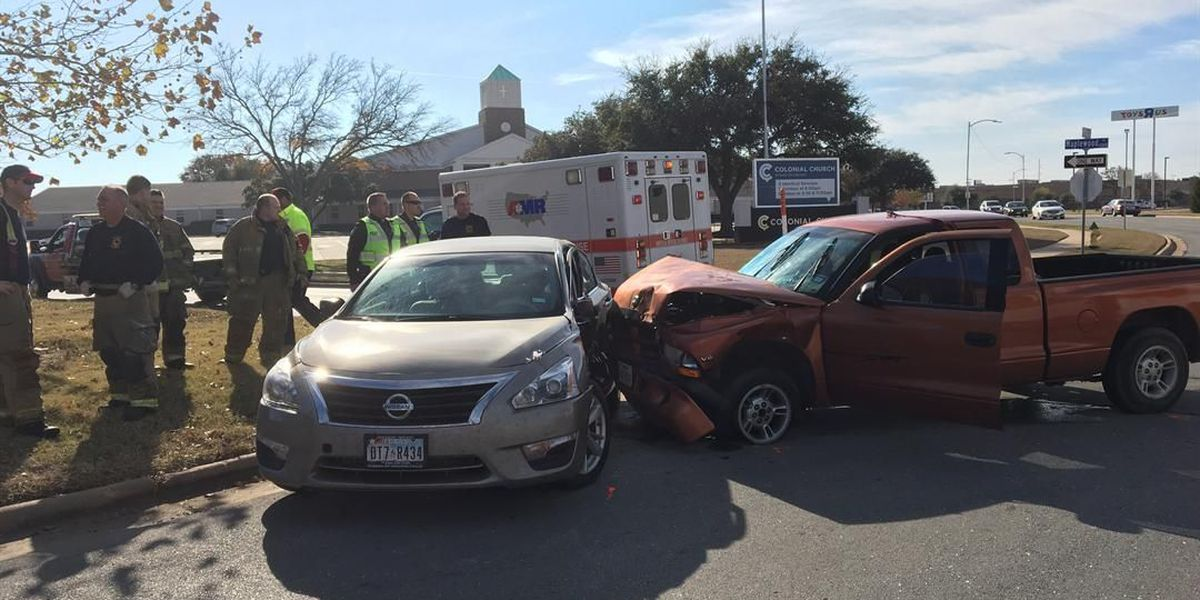 Collision on Maplewood sends 2 to hospital