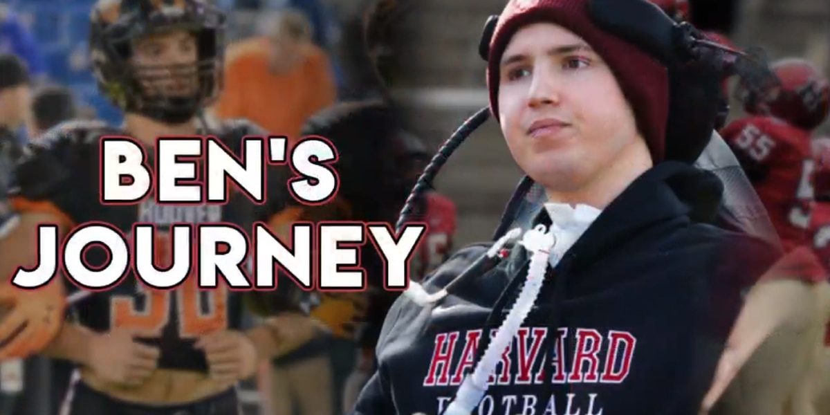 Ben Abercrombie returning to Harvard 2 years after severe football injury left him paralyzed