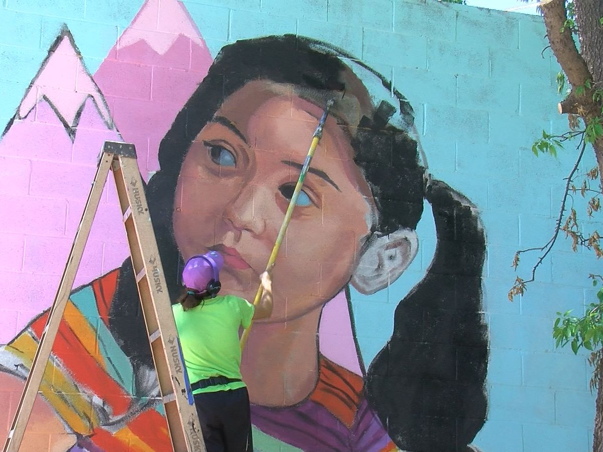 Next East side mural will soon be complete