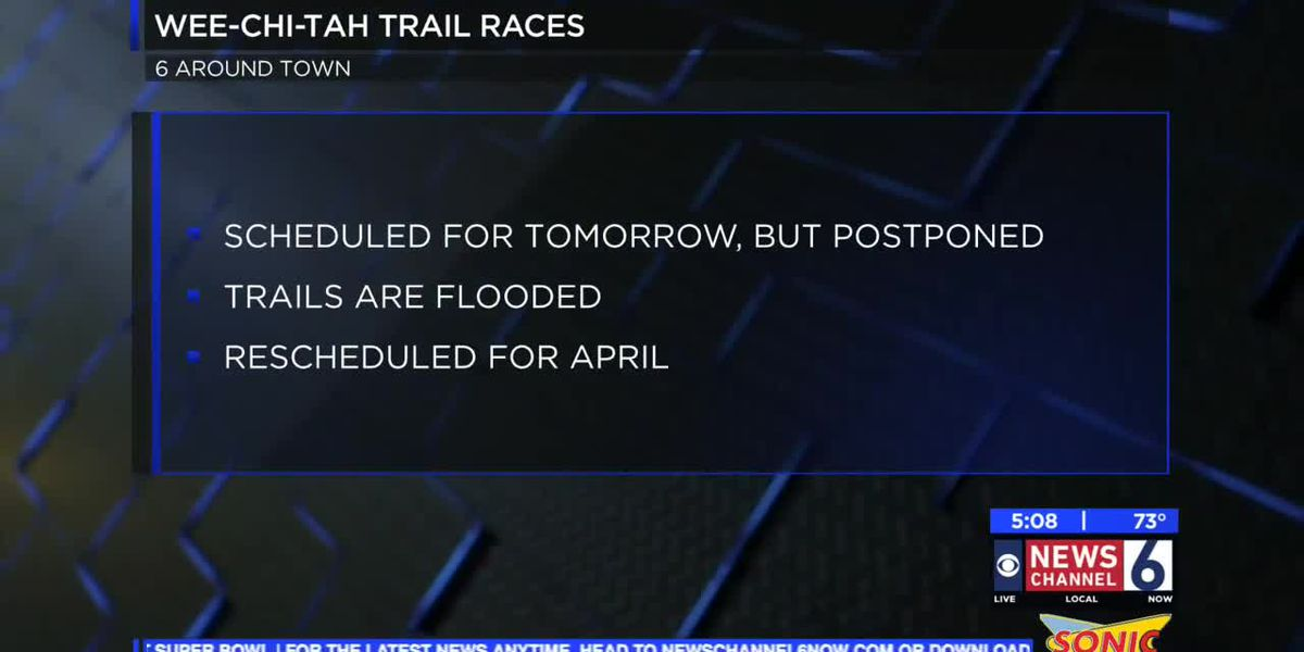 Wee-Chi-Tah trail race postponed