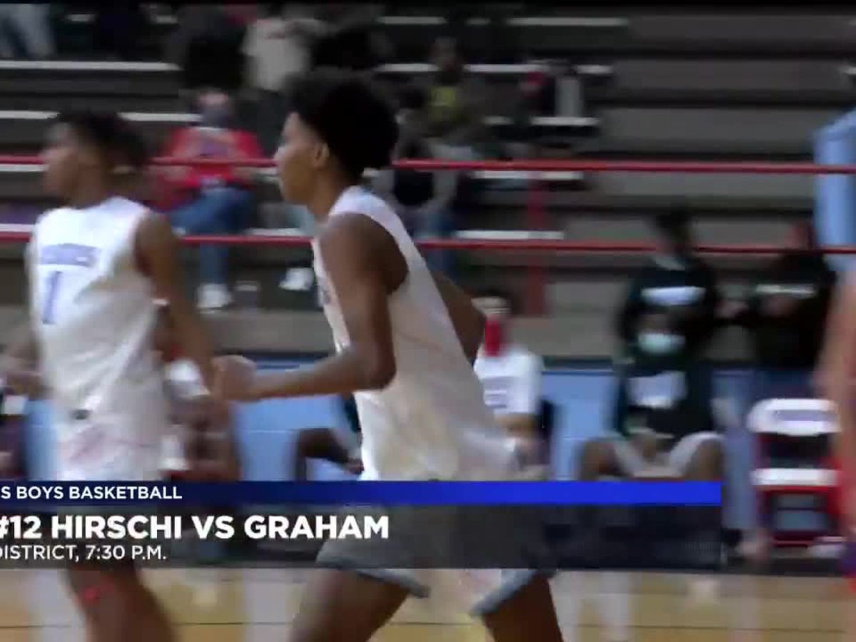 HS boys basketball: #12 Hirschi vs Graham highlights