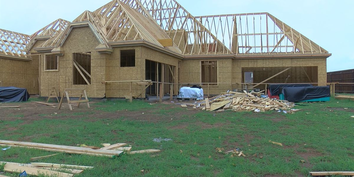 New homes on the rise in Wichita Falls