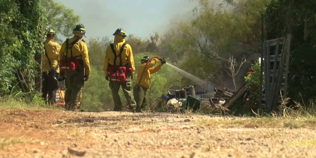 Firefighters prepare for day two of heightened fire chances