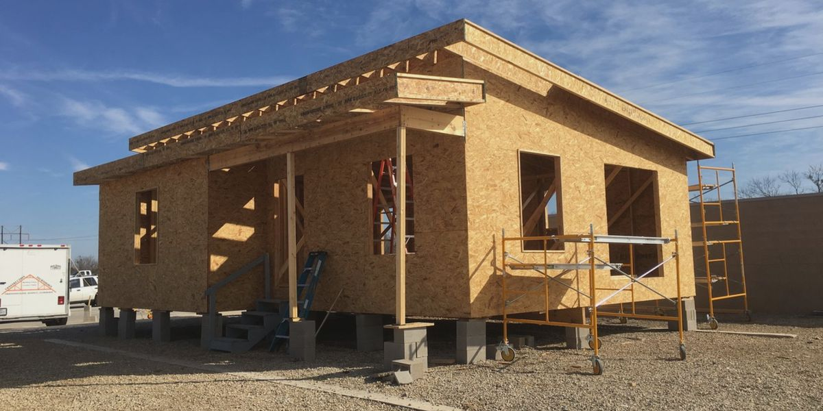 WFISD: CEC students building second entire home