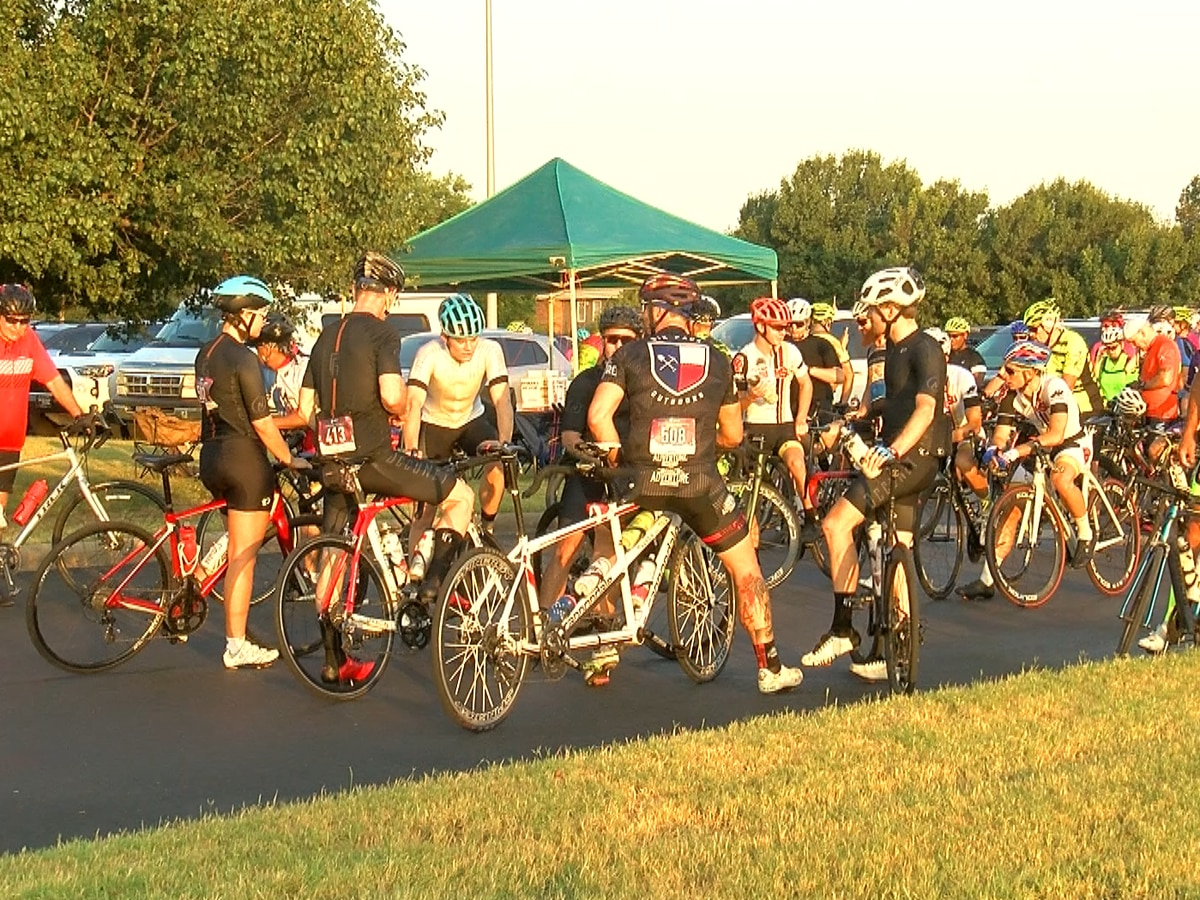 Vernon Burnin' Bike Ride gets cyclists ready for Hotter N' Hell