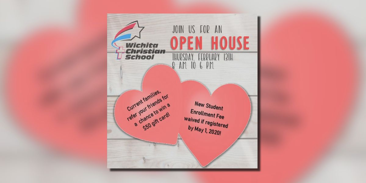 Wichita Christian open house event on Thursday