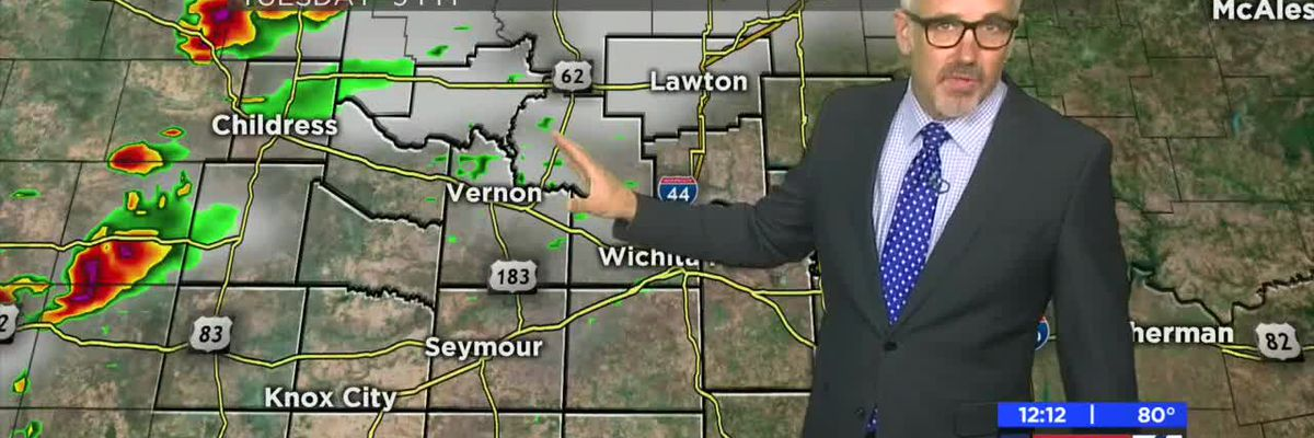 KAUZ Monday Midday Weather